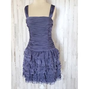 Adrianna Papell Truffle dress in Freesia size 4